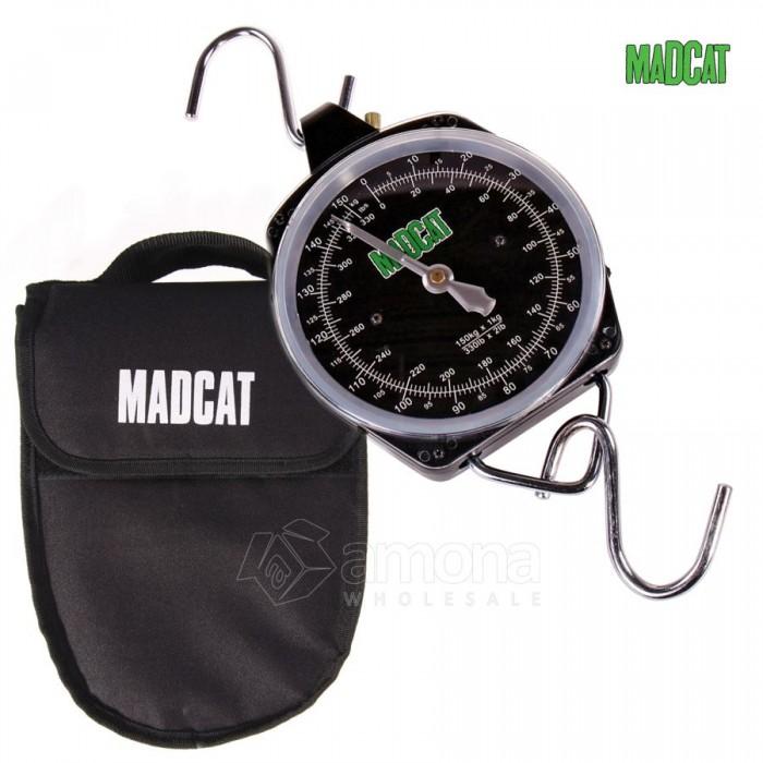 Svarstyklės MAD Cat Weigh Clock 150kg