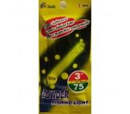 Švieselė naktinei žūklei Powder 7.5 x 75mm