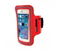 """Telefono dėklas ant rankos MOBILARI ETUI, raudonas 5,5"""""""