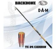 Teleskopinė meškerė DAM Backbone Tele 160