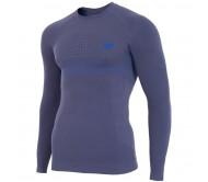 Termo marškinėliai 4f M H4Z17-BIMB001G tamsiai mėlyni