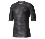Termo marškinėliai adidas Techfit Chill Short Sleeve Tee Print M CD3646