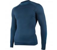Termo marškinėliai Brubeck Thermo M LS13040 granatowa