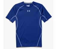Termo marškinėliai Under Armour HeatGear Compression Shortsleeve M 1257468-400