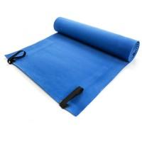 Turistinis kilimėlis EVA FOAM METEOR 200x60x0,5 cm, mėlynas/žalias