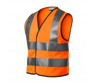 Vaikiška atspindinti liemenė HV Bright 9V4 oranžinė