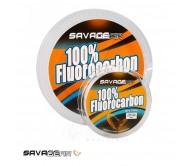 Valas Savage Gear 100 procentų Florocarbon 50 m.