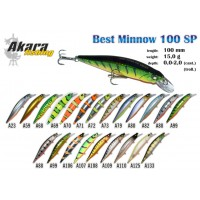 VOBLERIS AKARA BEST MINNOW  100SP 15g