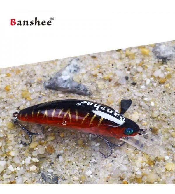 Vobleris Banshee Crankbait 45mm 4.7g GO-CM001 Red Black Back, Plūdrus