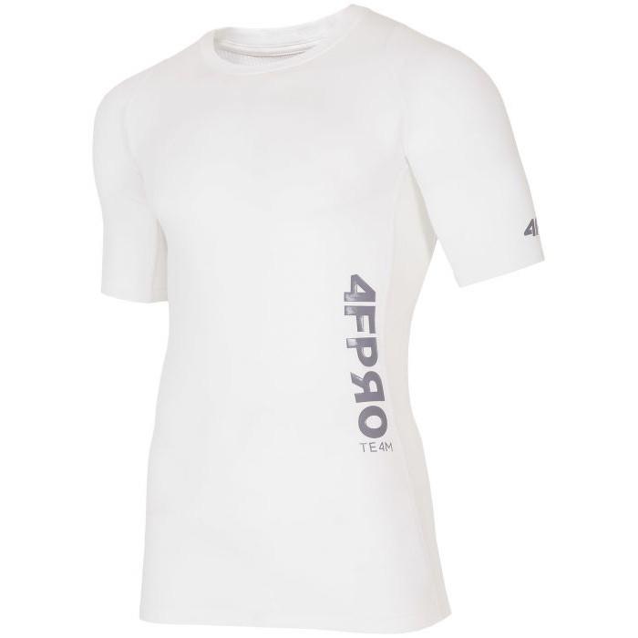 Vyriški termo marškinėliai 4F TSMF401, balti