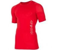 Vyriški termo marškinėliai 4F TSMF401, raudoni