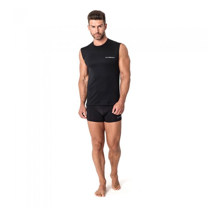 Vyriški termo marškinėliai WISSER RRXM41, juodi