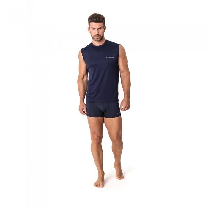 Vyriški termo marškinėliai WISSER RRXM41 navy blue