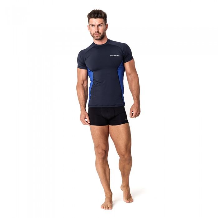 Vyriški termo marškinėliai WISSER RXM21 navy blue