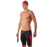Vyriškos plaukimo glaudės AQUAFEEL 24518 juoda/raudona