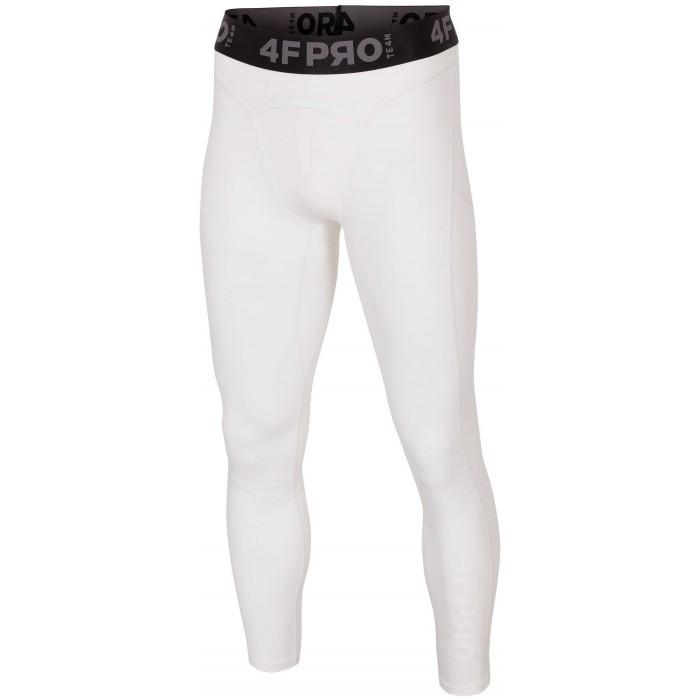 Vyriškos termo kelnės 4F SPMF403, baltos