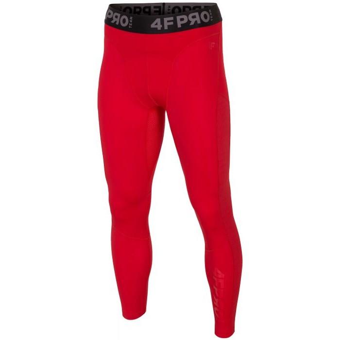 Vyriškos termo kelnės 4F SPMF403, raudonos