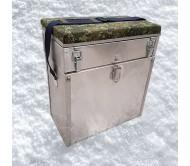 Žieminė dėžė žvejybai FPB 38X20X41 Aliuminė 28 litrų
