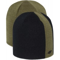 Žieminė kepurė 4F H4Z18 CAM007 black-green