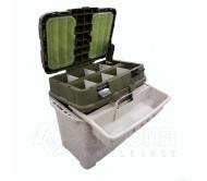 Žieminė žvejybinė dėžė Aquatech 2870 Komplektas